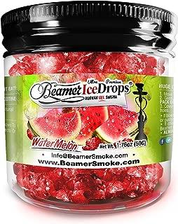Watermelon 50G Ultra Premium Beamer Ice Drops ¨ Hookah Shisha Smoking Gel. Each bowl lasts 2-4 Hours! USA Made, Huge Clouds, Amazing Taste! Better Taste & Clouds than Tobacco! 2-3 bowls per Jar!