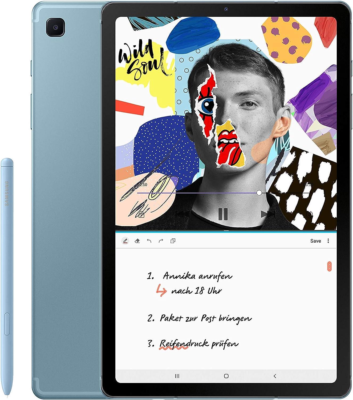 SAMSUNG Galaxy Tab S6 Lite LTE, 64GB, Angora Blue
