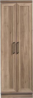 Amazon Com Sauder Homeplus Storage Cabinet Salt Oak Finish Furniture Decor