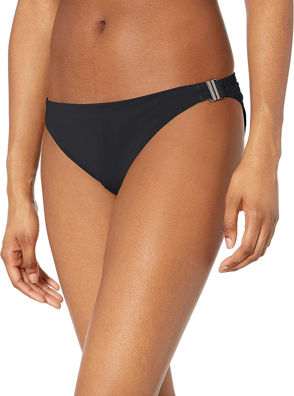 BCBGeneration Women's Standard Side Buckle Hipster Bikini Swimsuit Bottom