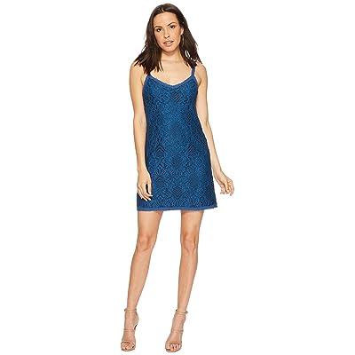 BB Dakota Kinsey Lace Slip Dress (Atlantic Blue) Women