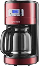 Grundig KM 6330 Koffiezetapparaat Red Sense, 1,8L, Metallic Rood