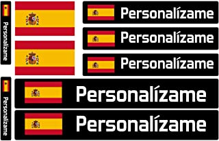 Haberdashery Online Kit 9 Adhesivos con Bandera, Texto y