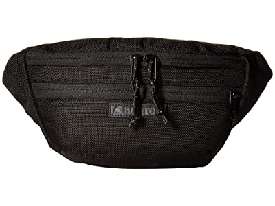 Burton Hip Pack (True Black Ballistic) Handbags