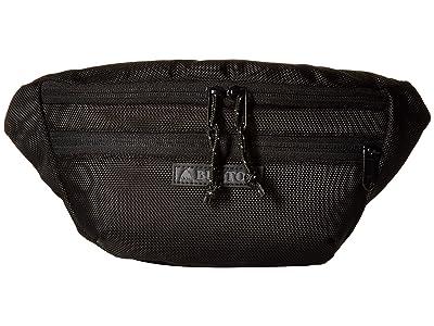 Burton Hip Pack (True Black Ballistic) Handbags