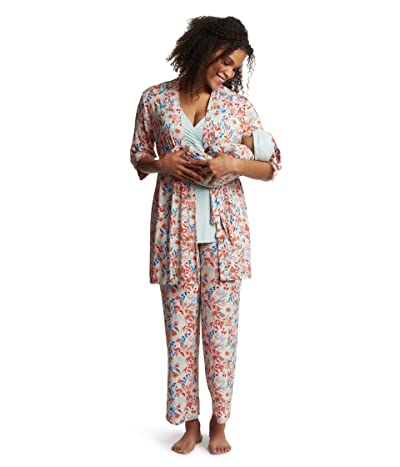 Everly Grey Analise Maternity/Nursing Mommy Me Five-Piece PJ Set (Posy) Women