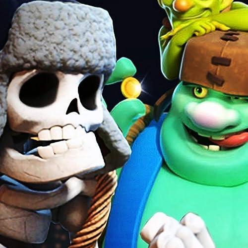 Duende Gigante Vs Esqueleto Gigante Clash Royale by Hat