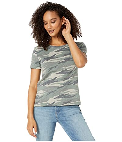 LAmade Edith French Terry Crew Tee (Camo) Women