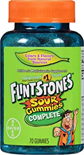 Flintstones Complete Multivitamin Sour Gummies, 70 Count