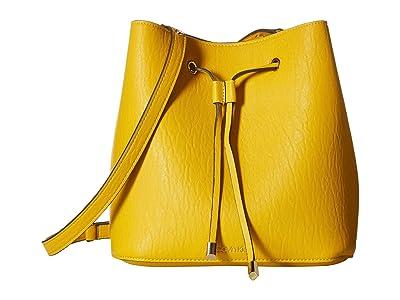 Calvin Klein Sonoma Bubble Lamb Novelty Hobo (Marigold) Handbags
