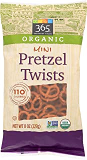 365 Everyday Value, Organic Mini Pretzel Twists, 8 oz
