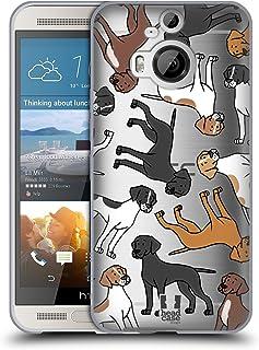 Head Case Designs 繧、繝ウ繧ー繝ェ繝・す繝・繝昴う繝ウ繧ソ繝シ 繝峨ャ繧ー繝悶Μ繝シ繝峨・繝代ち繝シ繝ウ 13 HTC One M9+ 蟆ら畑繧ス繝輔ヨ繧ク繧ァ繝ォ繧ア繝シ繧ケ
