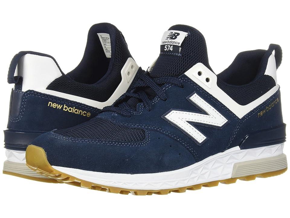 New Balance Classics MS574v1 (Vintage Indigo/White) Men's Shoes