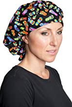 Fiumara Apparel Banded Bouffant Scrub Hats - Made in USA