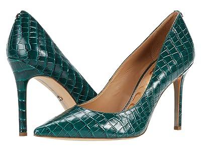 Sam Edelman Hazel (Green Ivy Lucea Dress Croco Leather) Women