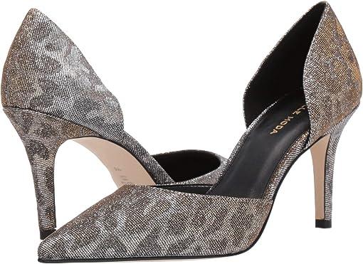 Leopard Glitter Textile