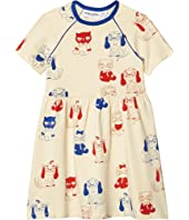Minibaby All Over Printed Dress (Infant/Toddler/Little Kids/Big Kids)