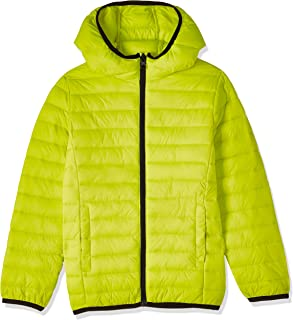 OVS Boy's 191JKT010A-226 Short Coated Jacket, Yellow (Sulphur Spring 2468), Size: 7-8