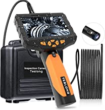 Teslong Inspection Camera 8MM, Industrial Endoscope-Borescope, 16.4 ft Cable, 6 LED..