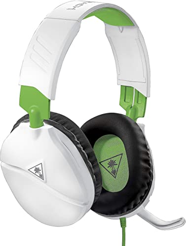 Turtle Beach Recon 70X Blanc Casque Gaming - Xbox One, Nintendo Switch, PS4, PS5 et PC