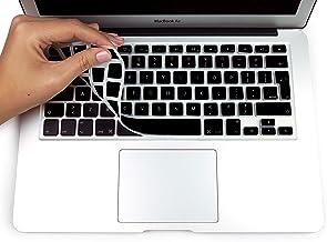 MyGadget Funda Teclado QWERTY [Ingles UK] para Apple MacBook Air 13