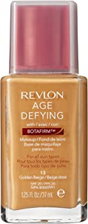 Revlon Age Defying Makeup with Botafirm for Normal/Combination Skin, Golden Beige, 1.25 Ounce