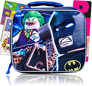 Lego Batman Kids Lunch Box Bundled with Specialty