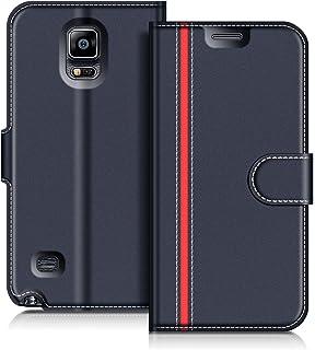 9be1d12307e COODIO Funda Samsung Galaxy Note 4, Funda Cuero Samsung Galaxy Note 4, Funda  Cartera
