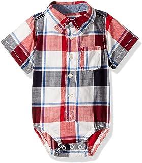 baby-boys Woven Bodysuit 11982012