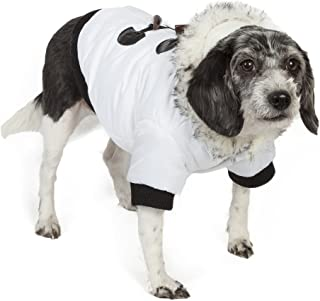 Aspen Winter-White Fashion Pet Parka Coat