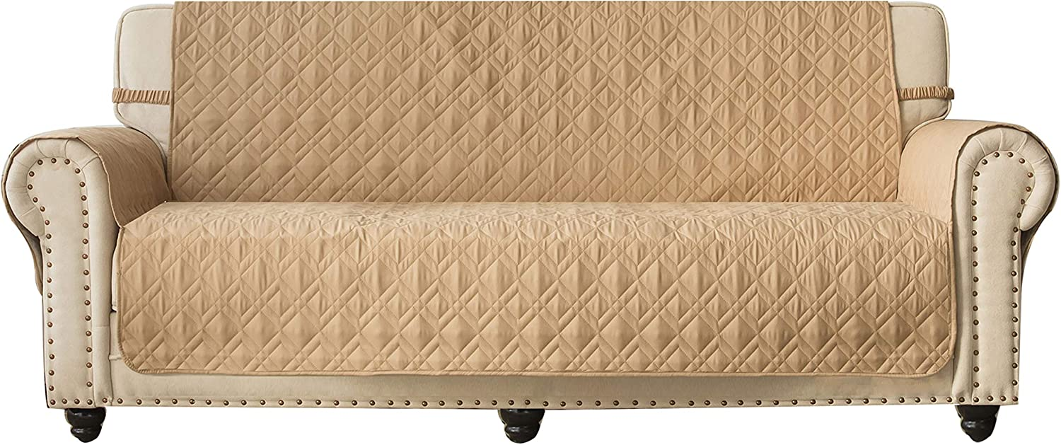 Ameritex Couch Sofa Slipcover 100% Quilted Waterproof Fu Nonslip New mail order Max 44% OFF