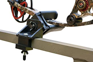 Bow Holder for Tree Stand, Hunting, Archery, lightweight, clamp on for easy assembly, durable