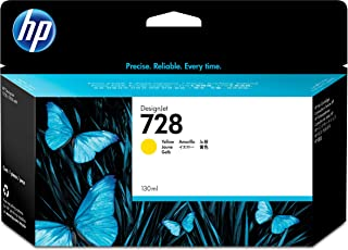 HP 728 130-ml Yellow DesignJet Ink