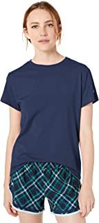 Champion Women's Classic Jersey Short Sleeve Tee, Athletic Navy, X Large