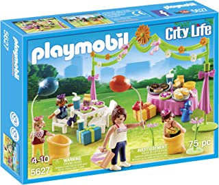 PLAYMOBIL 5627 Children's Birthday Party Playset (Discontinued by manufacturer)