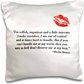 Best marilyn monroe quote pillow Reviews