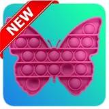POP IT Fidget Butterfly 3D Master Bubble Push POPOP - Fidget Butterfly Pop It Anti stress & Calm Pro