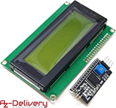 Homyl Affichage De Module DIIC I2C 2004 Blindage du Carte LCD Pour Arduino