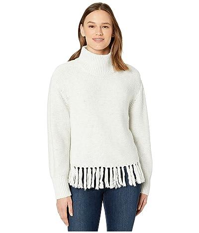 New Balance Balance Fringe Sweater (Sea Salt) Women