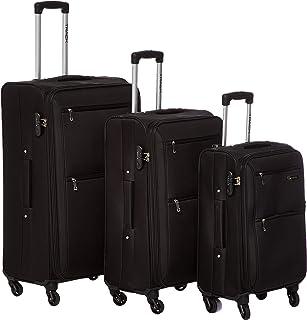 Track Luggage - 3Piece Soft Trolley Set