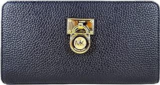 Michael Kors Hamilton Traveler Large Leather Zip Around Wallet