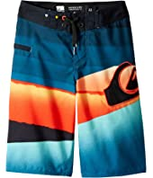Quiksilver Kids Slash Logo Boardshorts (Big Kids)