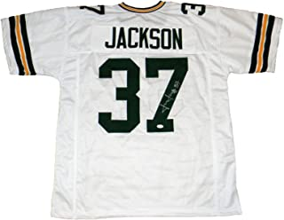 Josh Jackson (Green Bay Packers) Autographed Jersey - #37 White - JSA Certified - Autographed NFL Jerseys