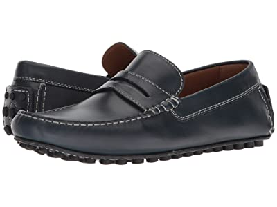 Robert Talbott Le Mans (Navy Leather) Men