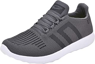 calcetto Latest Collection for Mens Dark Grey Synthetic Sports Shoes
