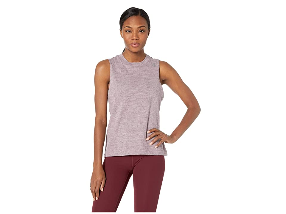 Reebok Training Elements Marble Tank (Purple) Women