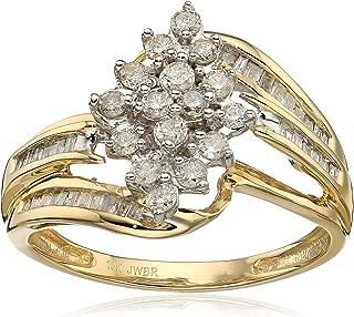 Best 10kt diamond cluster ring Reviews