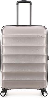 Antler Juno Metallic DLX Hardside Suitcase, 68 Centimeters, Bronze
