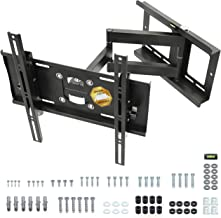 """RICOO R23-S Support TV Mural Orientable Inclinable Télévision 31-65"""" (79-165cm) Fixation Murale Universel LED LCD Incurvée..."""
