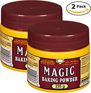 Magic Baking Powder 225g/7.9oz, 2ct, Total 450g/15.9oz, (Imported from Canada)